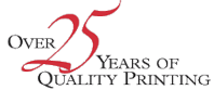 Over 25 Years of Quality Printing